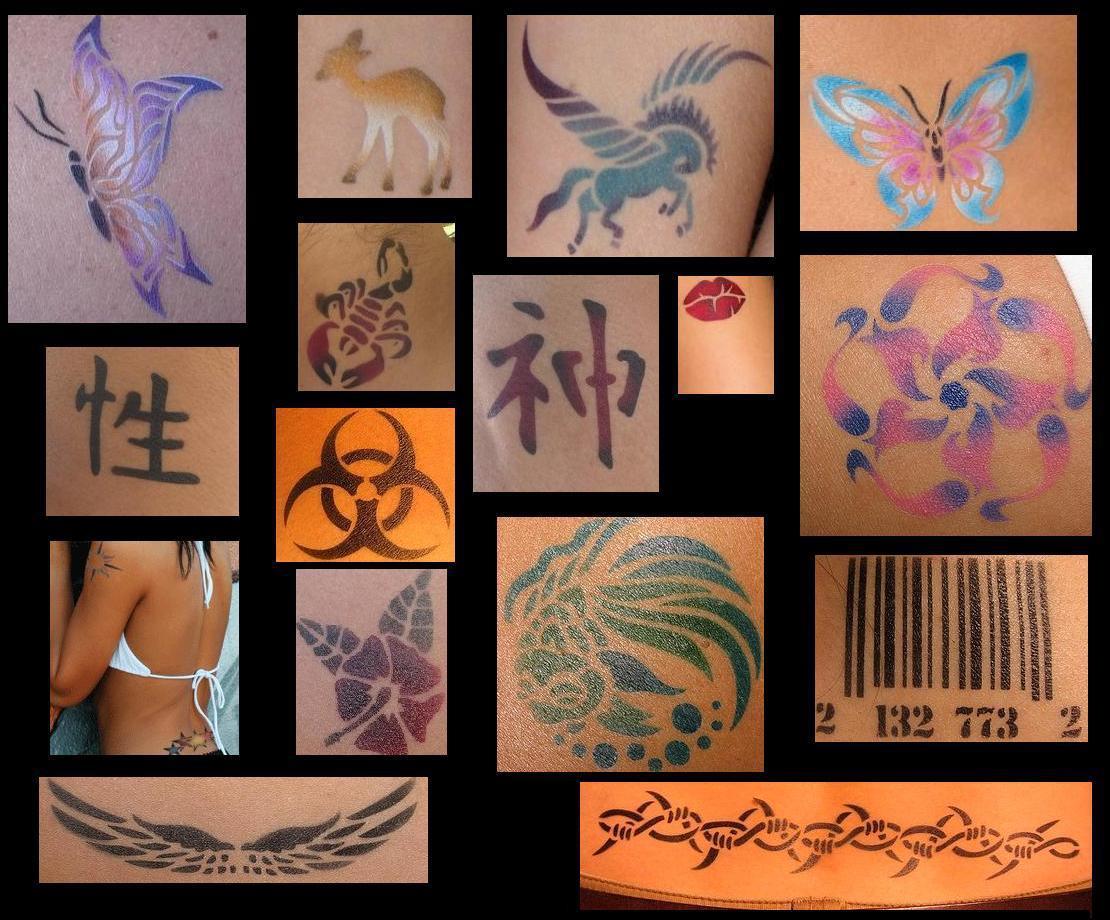 Airbrush Tatoos 23333