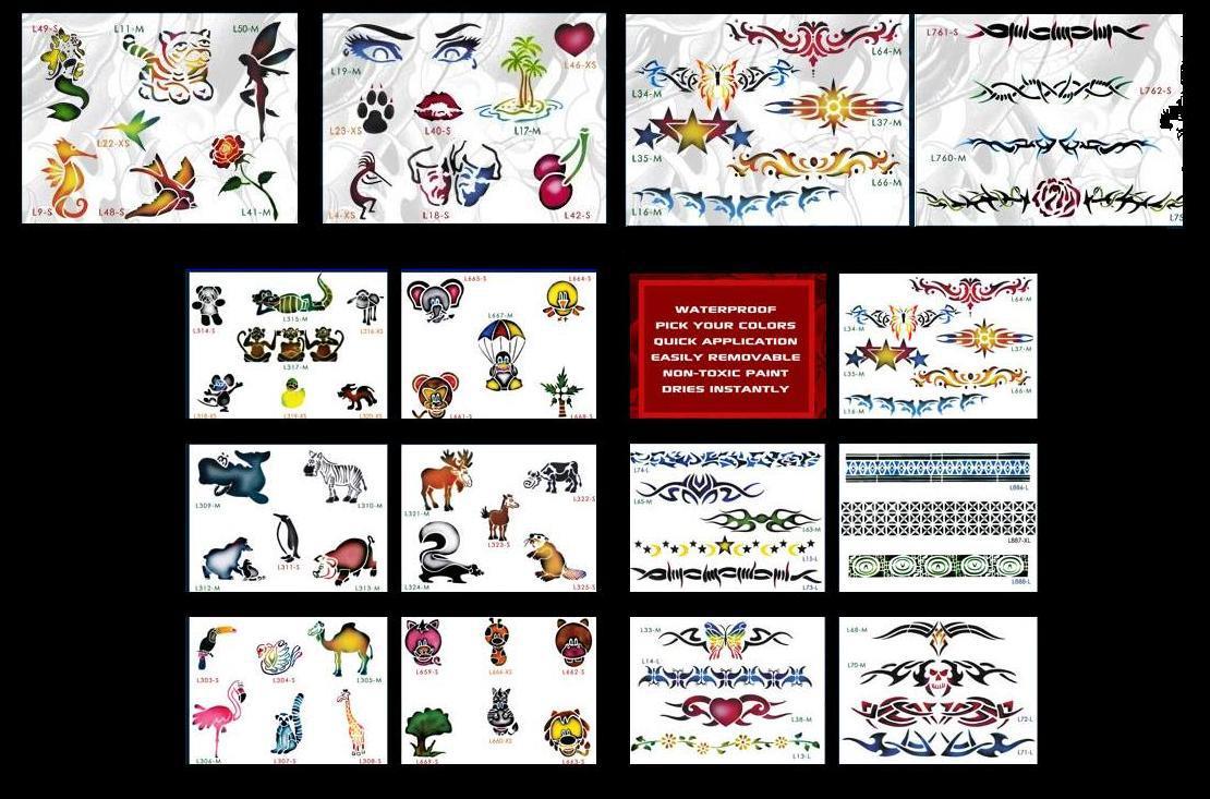 Airbrush Tatoos 24