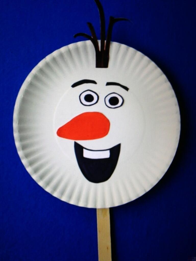 Craft2C Olaf Snowman