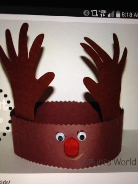 Craft2C Rudolph Hat (1)